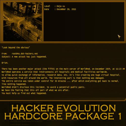 Hacker Evolution Hardcore Package 1
