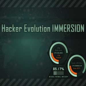Buy Hacker Evolution IMMERSION CD Key Compare Prices