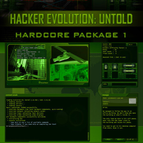Buy Hacker Evolution Untold Hardcore Package 1 CD Key Compare Prices