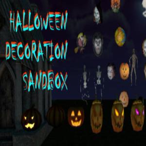 Halloween Decoration Sandbox