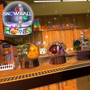 Halloween Snowball Bubble