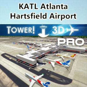 Hartsfiel-Jackson Atlanta [KATL] airport for Tower!3D Pro