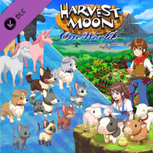 Harvest Moon One World Precious Pets Pack