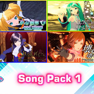 Hatsune Miku Project DIVA Mega Mix Song Pack 1