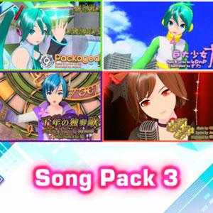 Hatsune Miku Project DIVA Mega Mix Song Pack 3