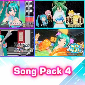 Hatsune Miku Project DIVA Mega Mix Song Pack 4