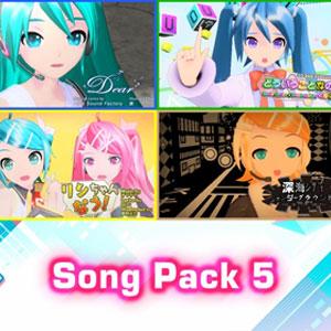 Hatsune Miku Project DIVA Mega Mix Song Pack 5