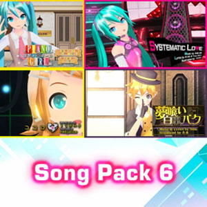 Hatsune Miku Project DIVA Mega Mix Song Pack 6