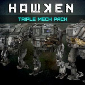 HAWKEN Triple Mech Pack
