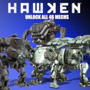 HAWKEN Unlock All The Mechs Bundle