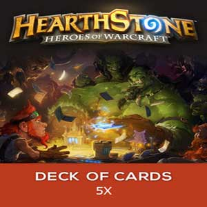Buy Hearthstone Heroes of Warcraft 5 x Deck of Cards CD Key Compare Prices