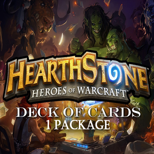 Buy Hearthstone Deck Of Cards Pack 1 GameCard Code Compare Prices