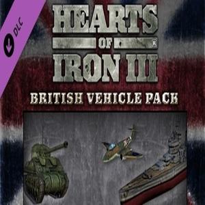 Hearts of Iron 3 British Vehicle Spritepack