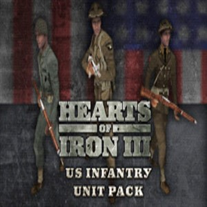 Hearts Of Iron 3 US Infantry Sprite Pack