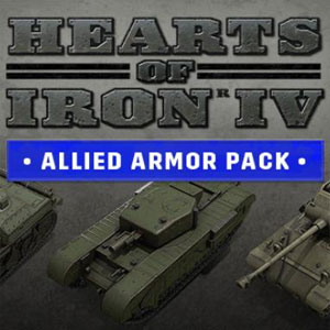 Hearts of Iron 4 Allied Armor Pack
