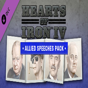 Hearts of Iron 4 Allied Speeches Music Pack