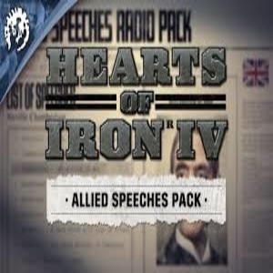 Hearts of Iron 4 Allied Speeches Pack