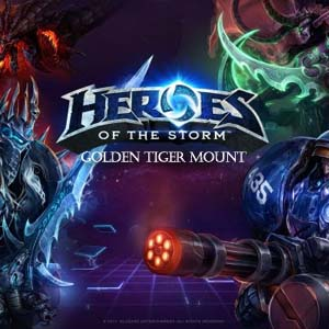 Buy Heroes of the Storm Golden Tiger Mount CD Key Compare Prices