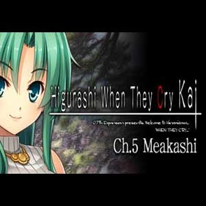 Buy Higurashi When They Cry Hou Ch.5 Meakashi CD Key Compare Prices