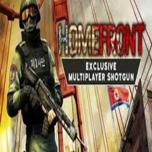 Homefront Exclusive Multiplayer Shotgun