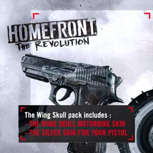 Buy Homefront The Revolution Wing Skull Pack PS4 Game Code Compare Prices