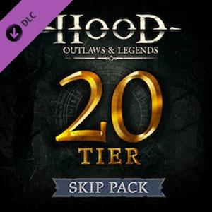 Hood Outlaws & Legends Battle Pass 20 Tier Skip Pack
