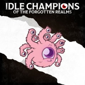 Idle Champions Fluffy the Fuzzy Beholder Familiar Pack