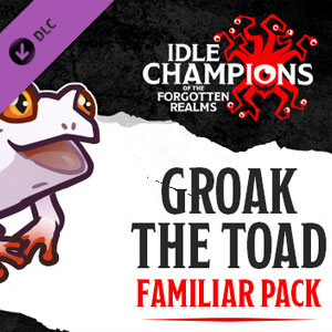 Idle Champions Groak the Toad Familiar Pack