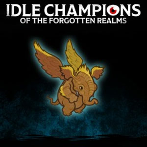 Idle Champions Lulu the Hollyphant Familiar Pack