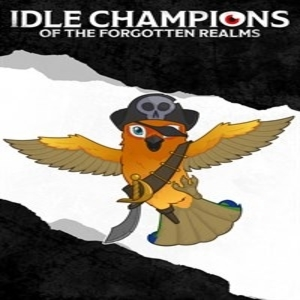 Idle Champions Pirate Parrot Familiar Pack