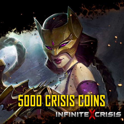 Buy Infinite Crisis 5000 Crisis Coins GameCard Code Compare Prices