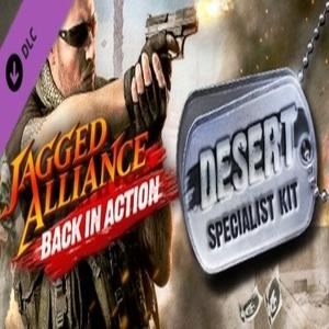 Jagged Alliance Back in Action Desert Specialist Kit DLC