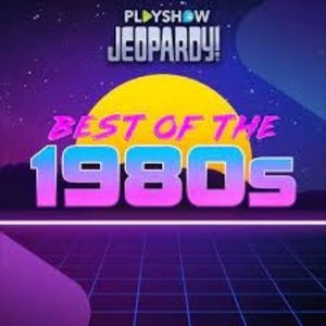 Jeopardy PlayShow Best of the 1980's