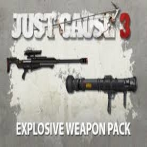 Just Cause 3 Explosive Weapon Pack