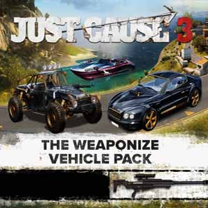 Buy Just Cause 3 Weaponized Vehicle Pack CD Key Compare Prices