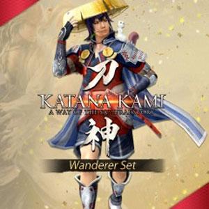 KATANA KAMI A Way of the Samurai Story Wanderer Set