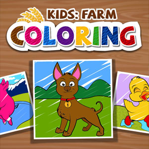 KIDS FARM COLORING