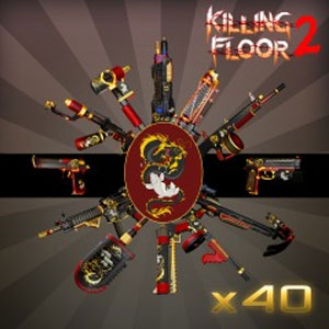 Killing Floor 2 Dragon And Koi Complete Weapon Skin Set