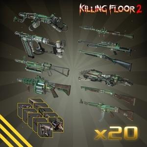 Killing Floor 2 Jaeger MKIII Weapon Skin Bundle Pack