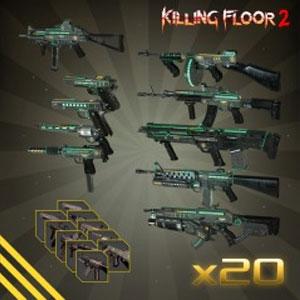 Killing Floor 2 Jaeger MKII Weapon Skin Bundle Pack