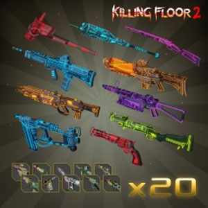 Killing Floor 2 Neon MKVI Weapon Skin Bundle Pack