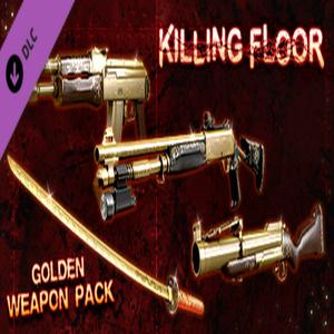 Killing Floor Golden Weapons Pack