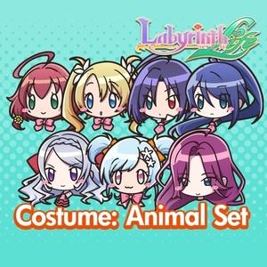 Labyrinth Life Maiden Costume Animal Set of 7