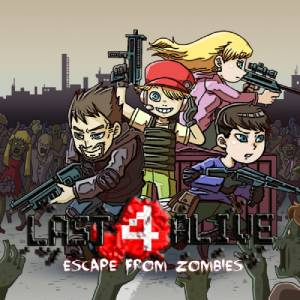 Last 4 Alive Escape From Zombies