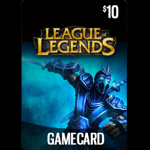 Buy League Of Legends 10 USD Prepaid RP Cards US GameCard Code Compare Prices
