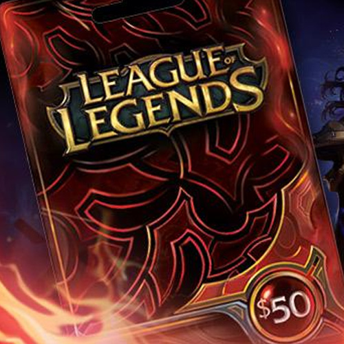 Buy League Of Legends 50 USD Prepaid RP Cards US GameCard Code Compare Prices