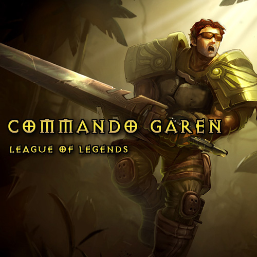 Buy League Of Legends Skin Commando Garen LAN GameCard Code Compare Prices