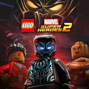 LEGO MARVEL Super Heroes 2 Marvel's Black Panther Movie Character and Level Pack