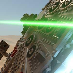 Battle in Star wars the Force Awakens