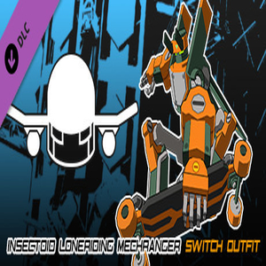 Lethal League Blaze Insectoid Loneriding Mechranger Outfit for Switch